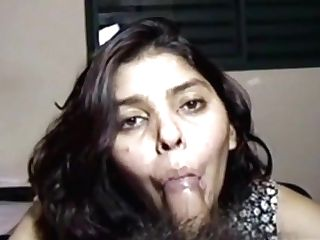 Hairy Muff Indian Wifey 206